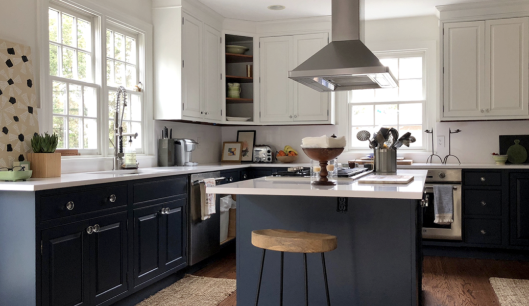 painting kitchen cabinets best after