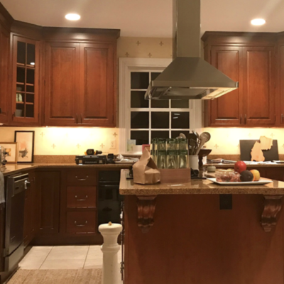 painting kitchen cabinets best before